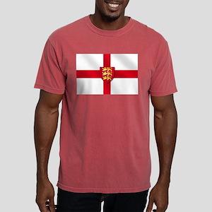 England Three Lions Flag Mens Comfort Colors Shirt