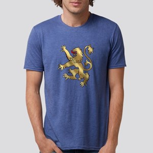 English Lion Rampant Mens Tri-blend T-Shirt