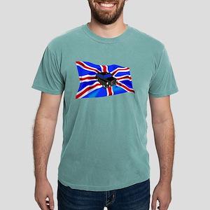 Black Cab Union Jack Mens Comfort Colors Shirt