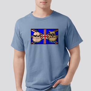 British Bulldogs Mens Comfort Colors Shirt