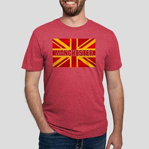 Manchester Flag Mens Tri-blend T-Shirt