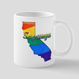 Topanga, California. Gay Pride Mug
