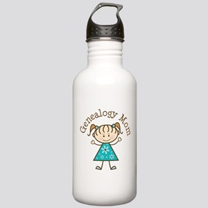 Genealogy Mom Stainless Water Bottle 1.0L