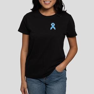 Awareness Ribbon Women's Dark T-Shirt