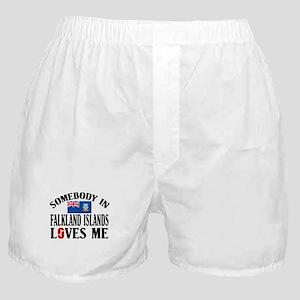 Somebody In Falkland Islands Boxer Shorts