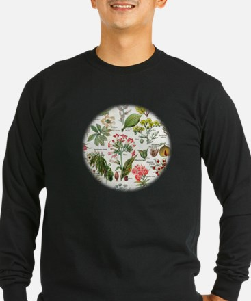 Botanical Illustrations - Laro Long Sleeve T-Shirt