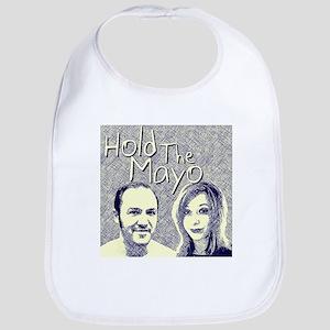 Hold The Mayo Podcast logo Baby Bib