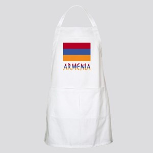 Armenia Flag & Word Apron