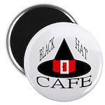 Black Hat Cafe Magnet