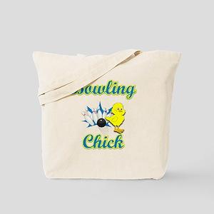 Bowling Chick #2 Tote Bag