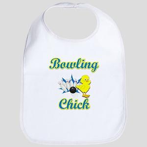 Bowling Chick #2 Bib