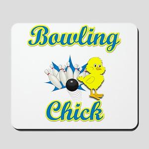 Bowling Chick #2 Mousepad