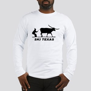 Ski Texas Long Sleeve T-Shirt