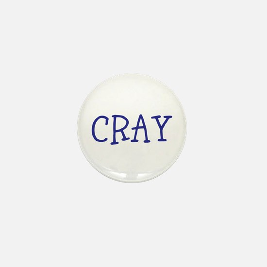 Cray Mini Button
