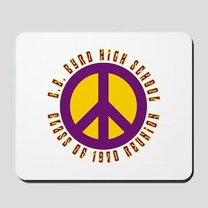 C.E. Byrd Class of 1970 Peace Mousepad