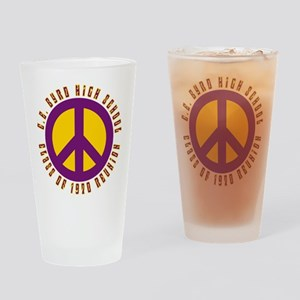 C.E. Byrd Class of 1970 Peace Drinking Glass