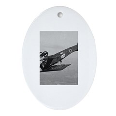 Fokker Looping Oval Ornament