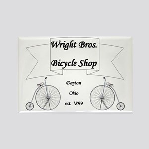 Wright Bros. Cycle Shoppe Rectangle Magnet