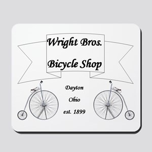 Wright Bros. Cycle Shoppe Mousepad