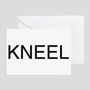KNEEL down. On a Greeting Cards (Pk of 10)