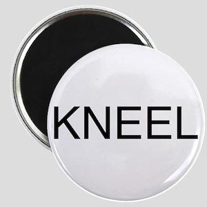 KNEEL down. On a Magnet