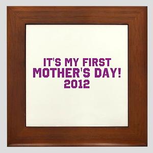 First Mothers Day Framed Tile