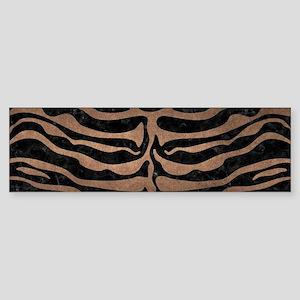 SKIN2 BLACK MARBLE & BRONZE METAL Sticker (Bumper)