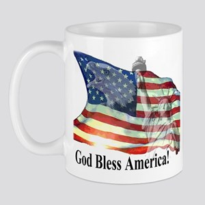 God Bless America! Mug