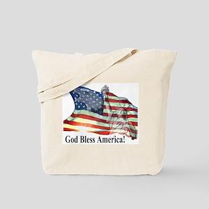 God Bless America! Tote Bag