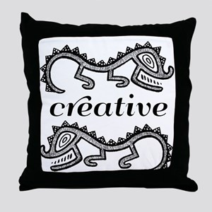 Creative Imaginative Throw Pillow