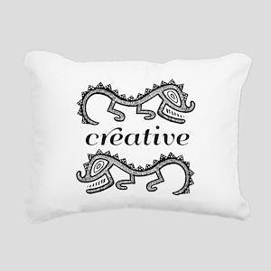 Creative Imaginative Rectangular Canvas Pillow