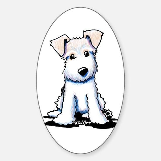 Cutie Face WFT Sticker (Oval 10 pk)
