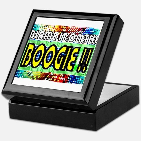 blame it on the boogie Keepsake Box