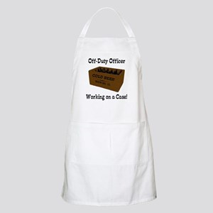 Officer Working on a Case! BBQ Apron