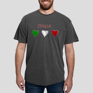 Italia Hearts Mens Comfort Colors Shirt