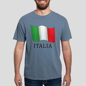 Italia Flag Mens Comfort Colors Shirt