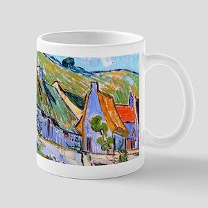 Van Gogh Cottages Mug