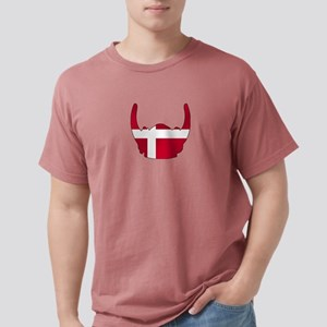 Danish Viking Helmet Mens Comfort Colors Shirt