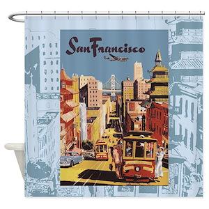 San Francisco Shower Curtains