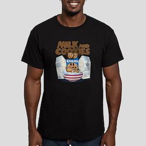 Cookie Men's Fitted T-Shirt (dark)