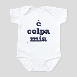 E colpa mia Infant Bodysuit
