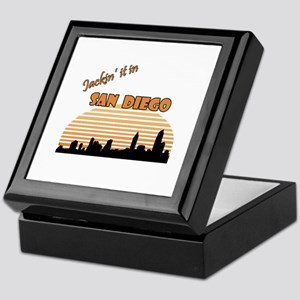 Jacking it in San Diego Keepsake Box