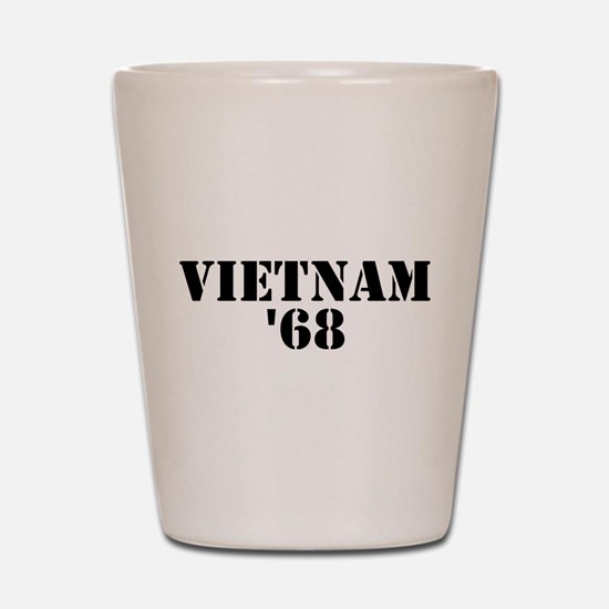 Vietnam 1968 Shot Glass