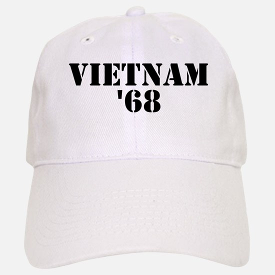 Vietnam 1968 Baseball Baseball Cap