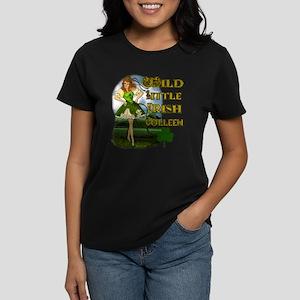 Wild Little irish Colleen Women's Dark T-Shirt