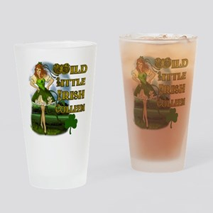 Wild Little Irish Colleen Drinking Glass