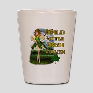 Wild Little Irish Colleen Shot Glass