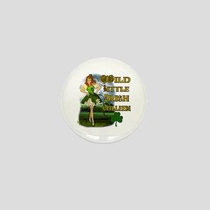 Wild Little Irish Colleen Mini Button