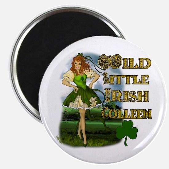 Wild Little Irish Colleen Magnet