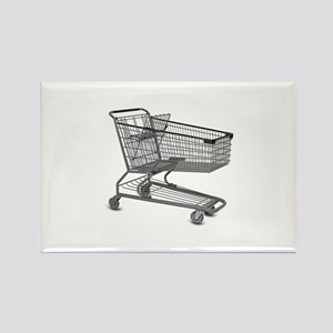 Shopping Cart Rectangle Magnet
